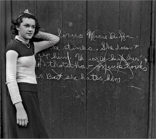 Love Hate Graffiti New Orleans, 1937
