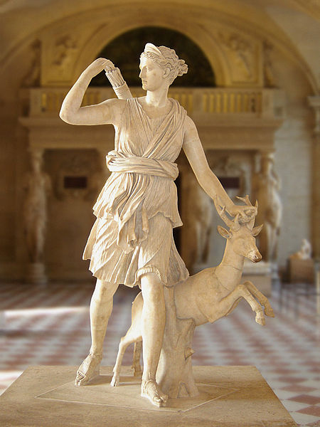 Diana of Versailles, Leochares
