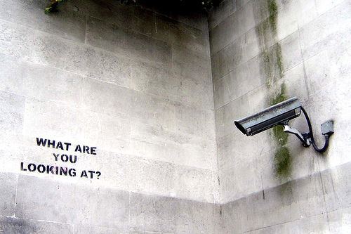 """What Are You Looking At?"", Banksy"