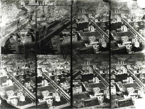 Felix Nadar Aerial Photograph