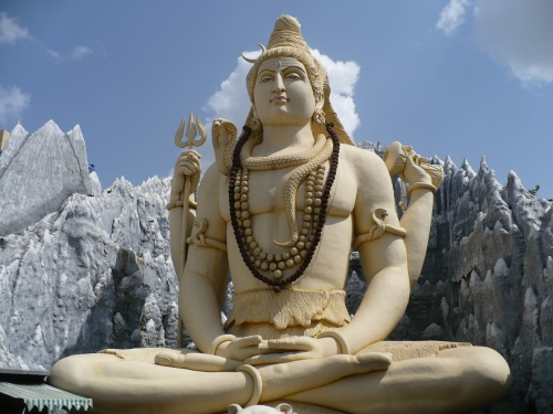 Shiva statue in Bangalore, Karnataka, India
