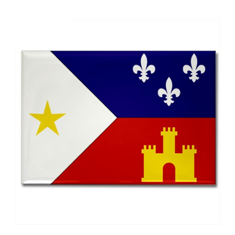 Louisiana Acadian Flag
