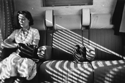 Aboard Le Mistral, France 1975/ Charles Harbutt
