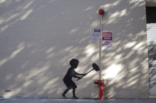 Banksy, Upper West Side, New York City