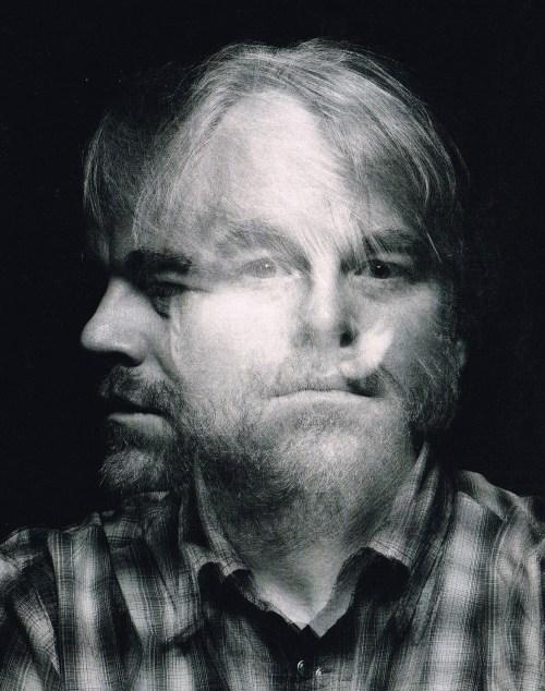 Portrait of Philip Seymour Hoffman by Inez van Lamsweerde & Vinoodh Matadin